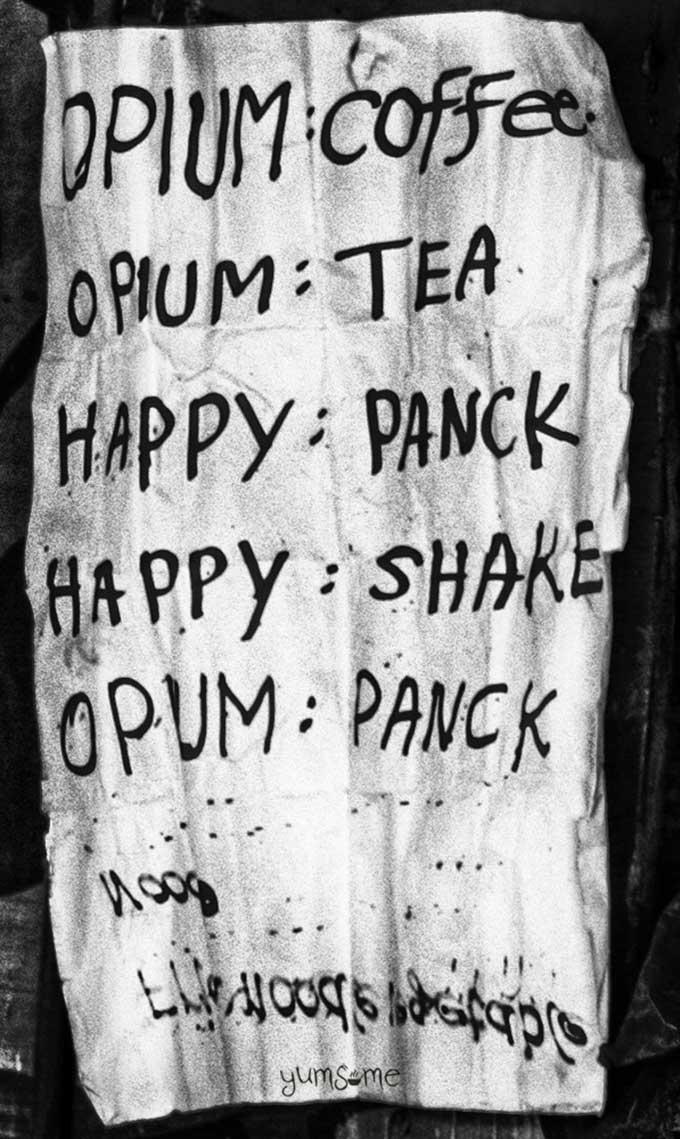 opium pancake menu | yumsome.com