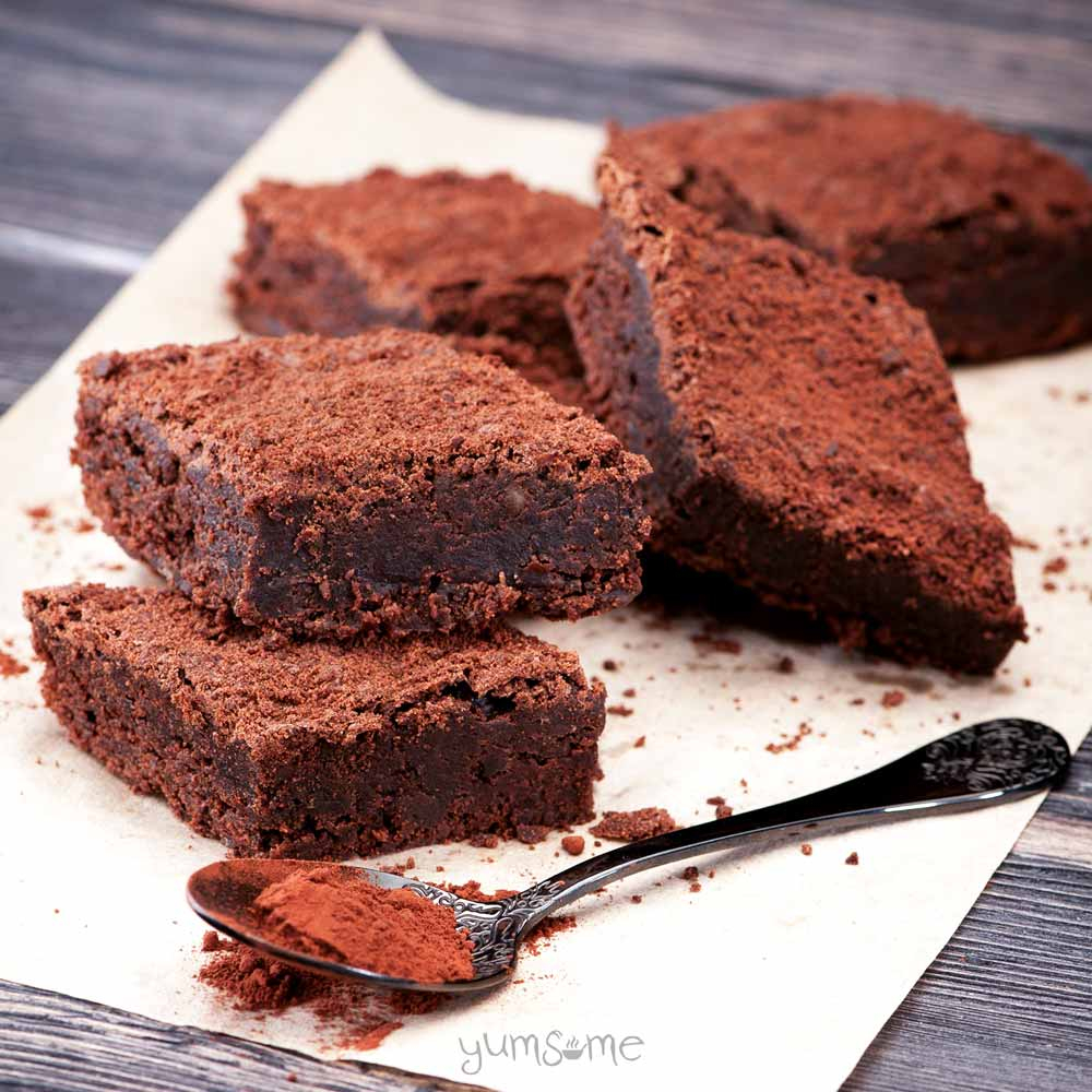 These fudgy, chocolatey brownies are incredibly simple to make, and are insanely delicious!   yumsome.com