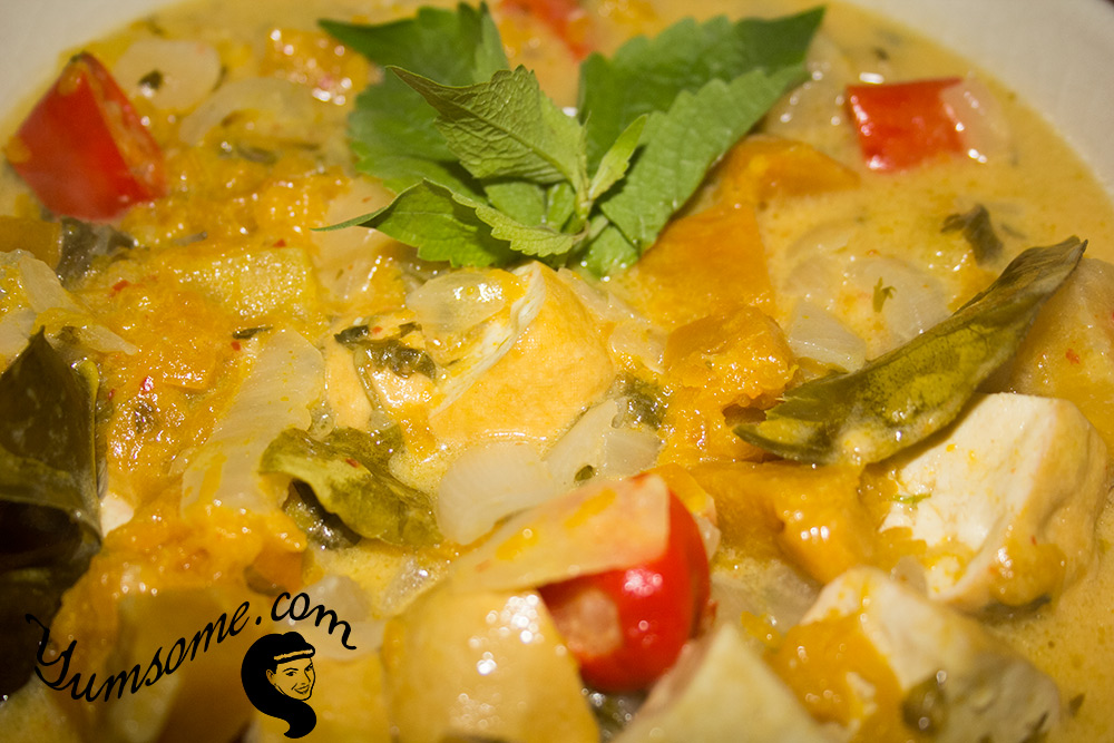 Thai Pumpkin, Pineapple, and Tofu Curry