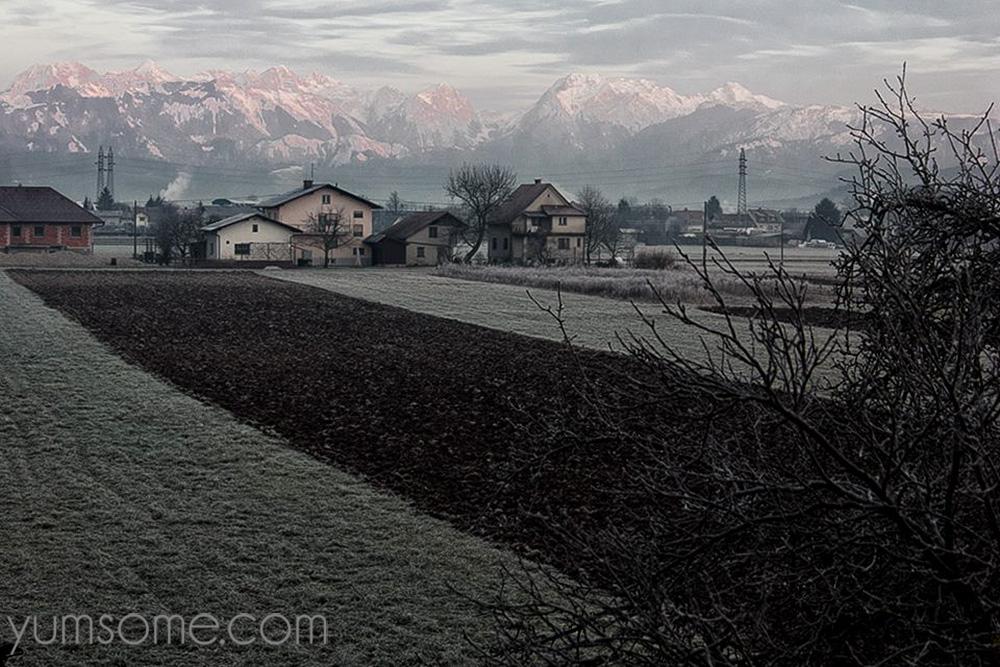 Winter in Kašelj