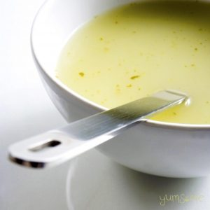 My 3-ingredient potato soup is delicious, nutritious, simple to make, and costs only pennies! | yumsome.com