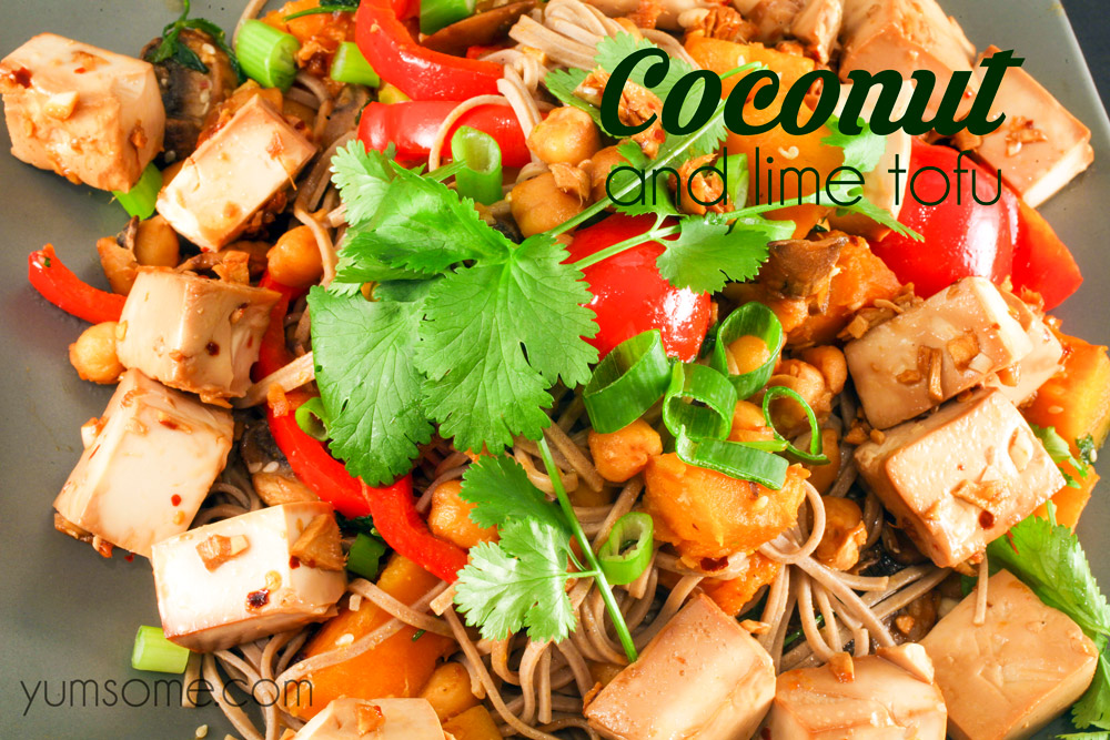 Coconut and Lime Tofu