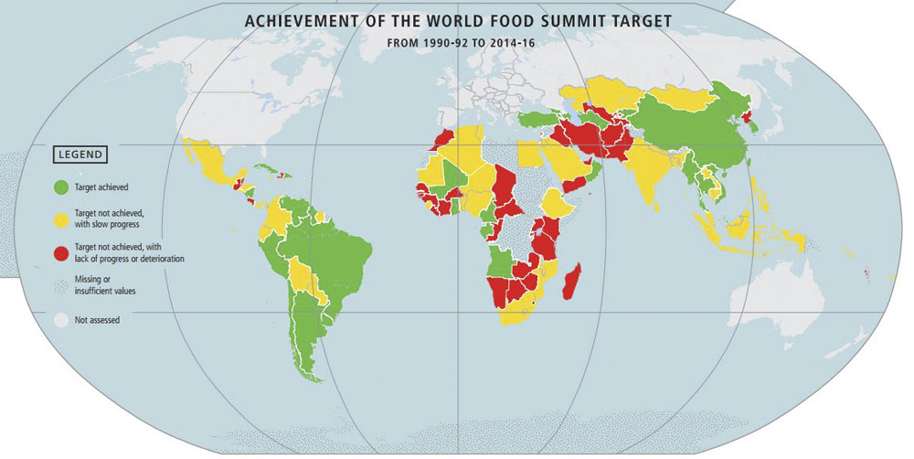 fao world food summit target