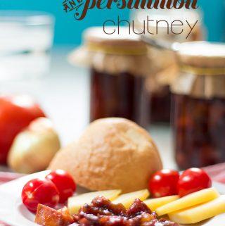 tomato and persimmon chutney