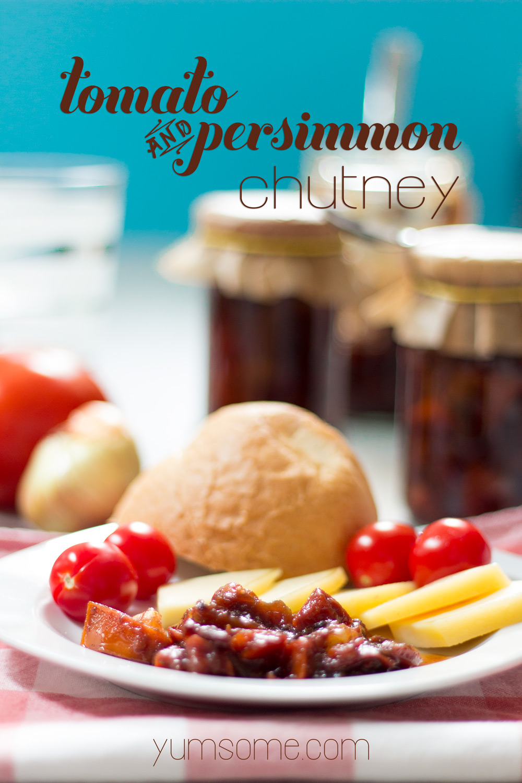 tomato-and-persimmon-chutney