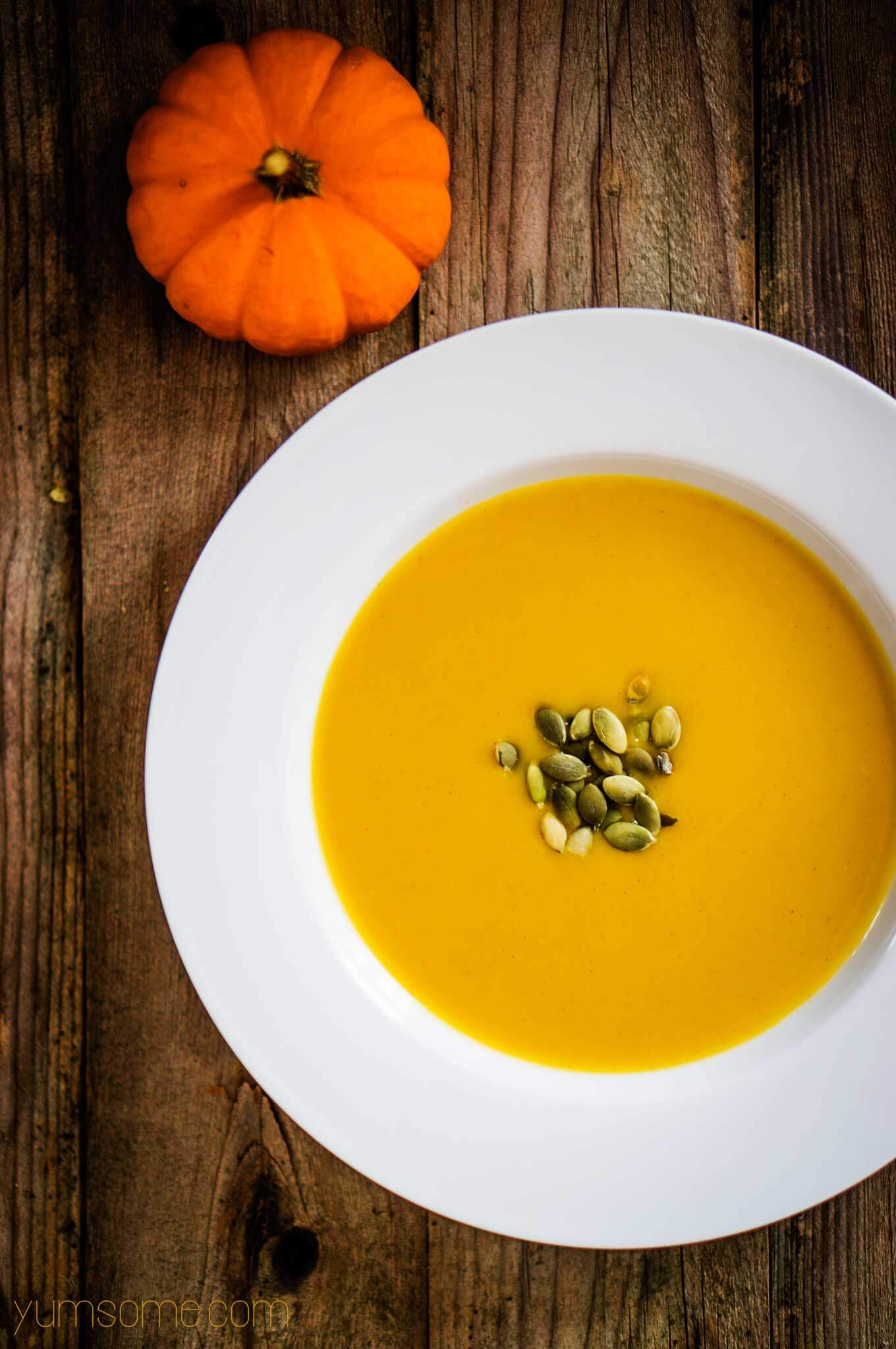 Food 1 2016 8 30 Calabaza Carrot Soup >> Use It Up Pumpkin Soup