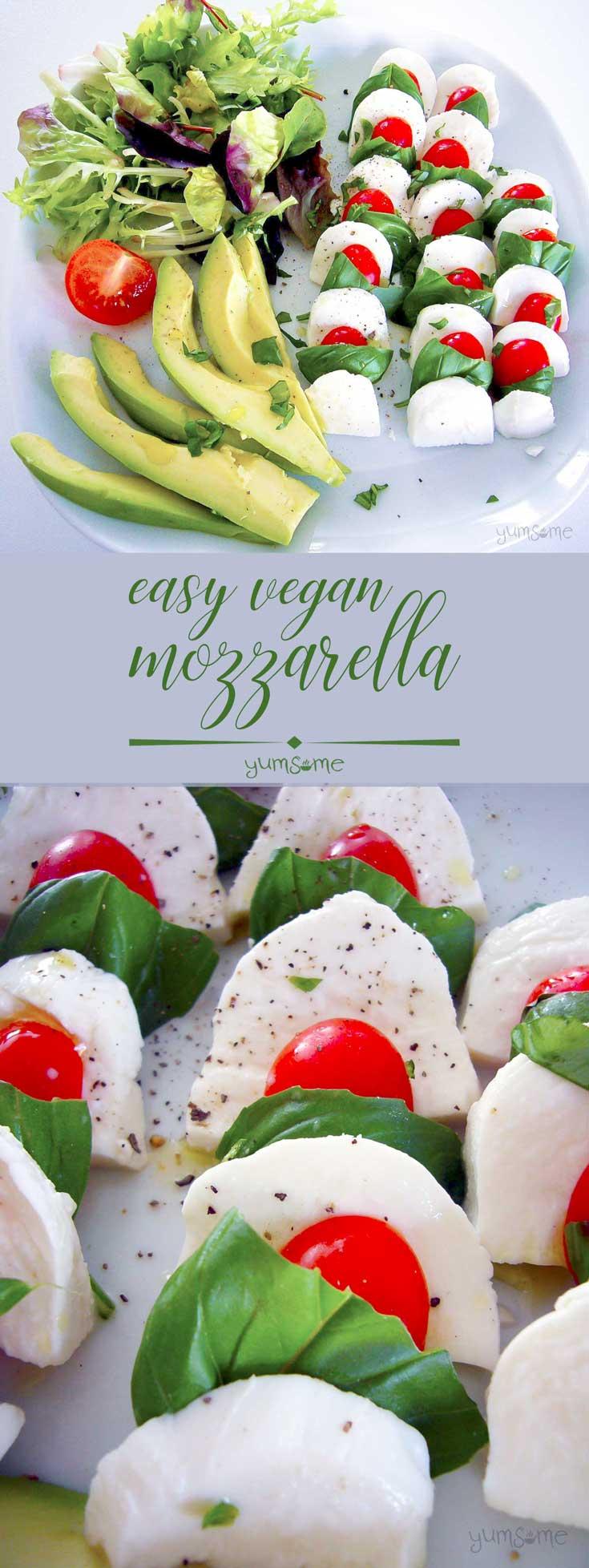 How To Make Easy Meltable Vegan Mozzarella