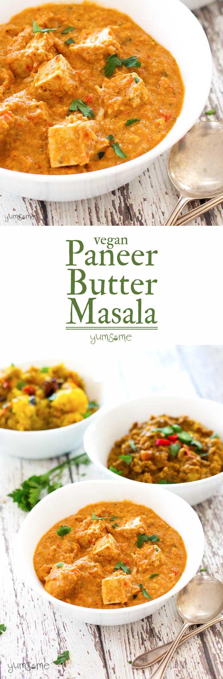 Vegan Paneer Butter Masala