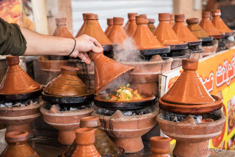 tagine street food in taroudannt | yumsome.com