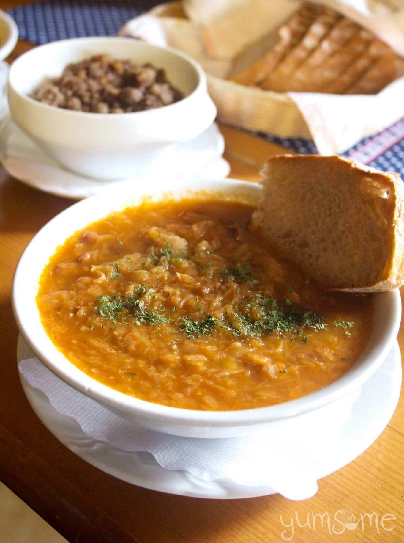Vegan Jota Slovenian Sauerkraut Amp Bean Stew Yumsome