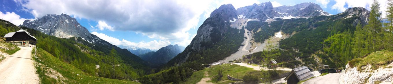 At the top of the Vršič Pass, one of my favourite places in Slovenia. | yumsome.com