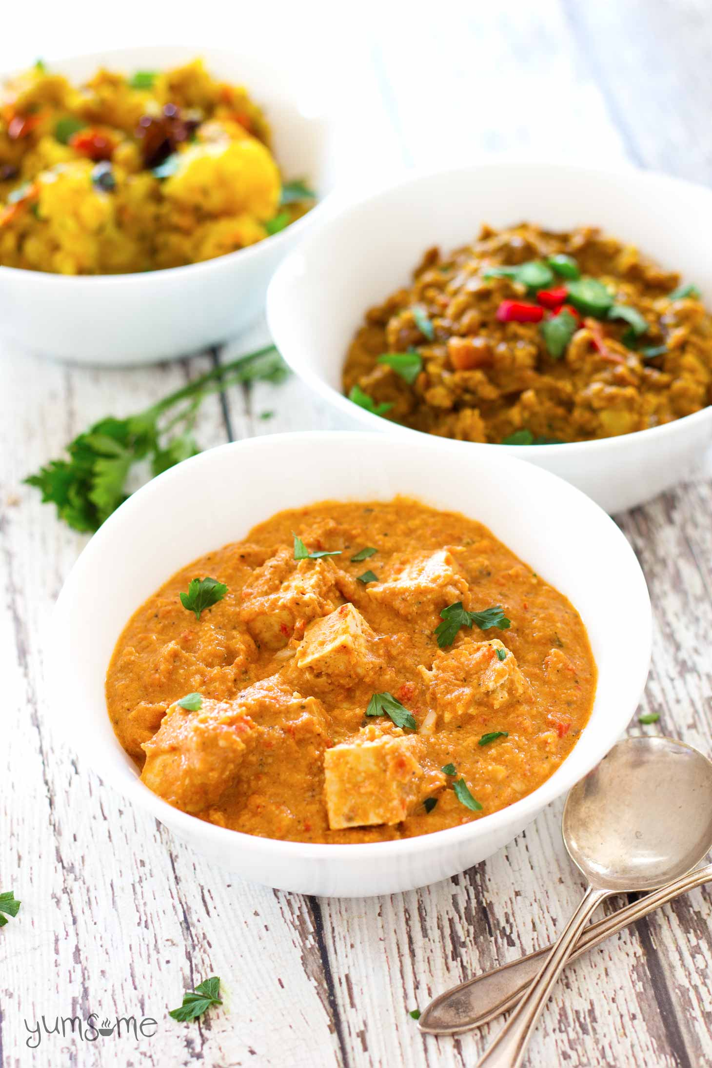 Vegan paneer butter masala my vegan paneer butter masala is a perfect balance of spiciness and creaminess and works forumfinder Images
