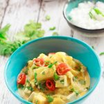 My lazy Thai pumpkin, pineapple, and tofu curry is so easy to make, and ideal if you're pushed for time. | yumsome.com