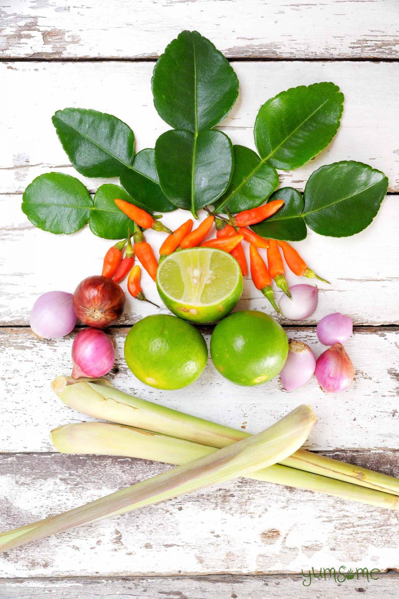 Tom yam herbs | yumsome.com