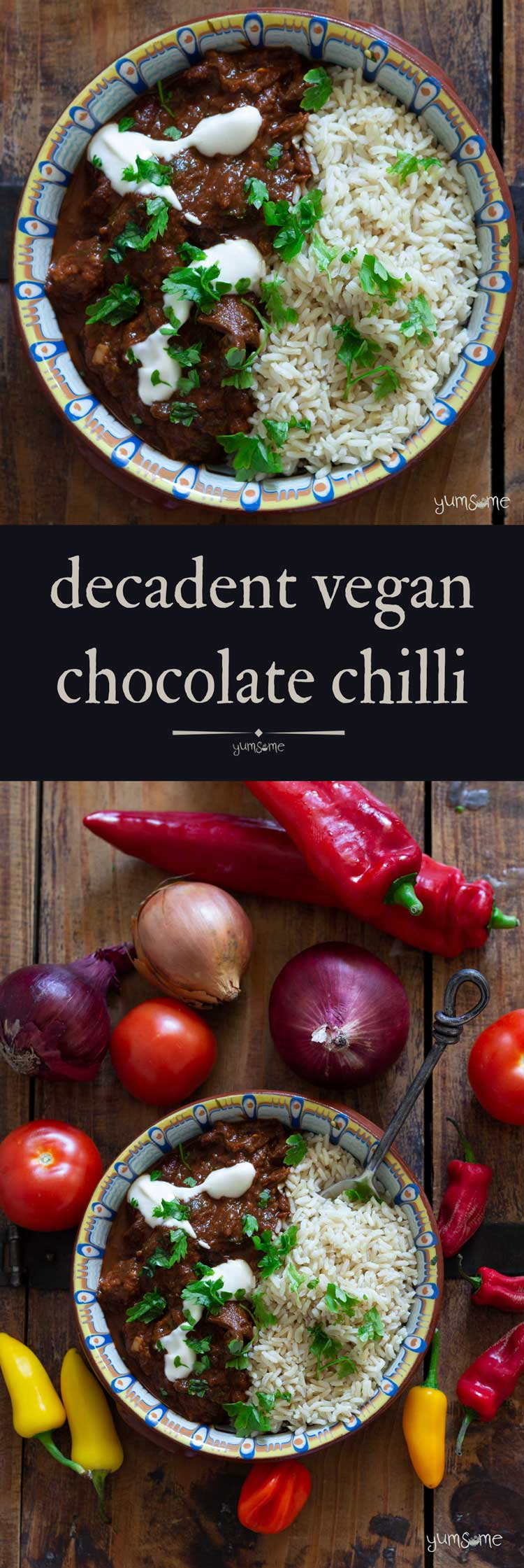 Decadent Vegan Chocolate Chilli