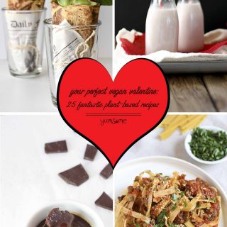 Looking for romantic culinary inspiration? Your perfect vegan Valentine starts here! | yumsome.com