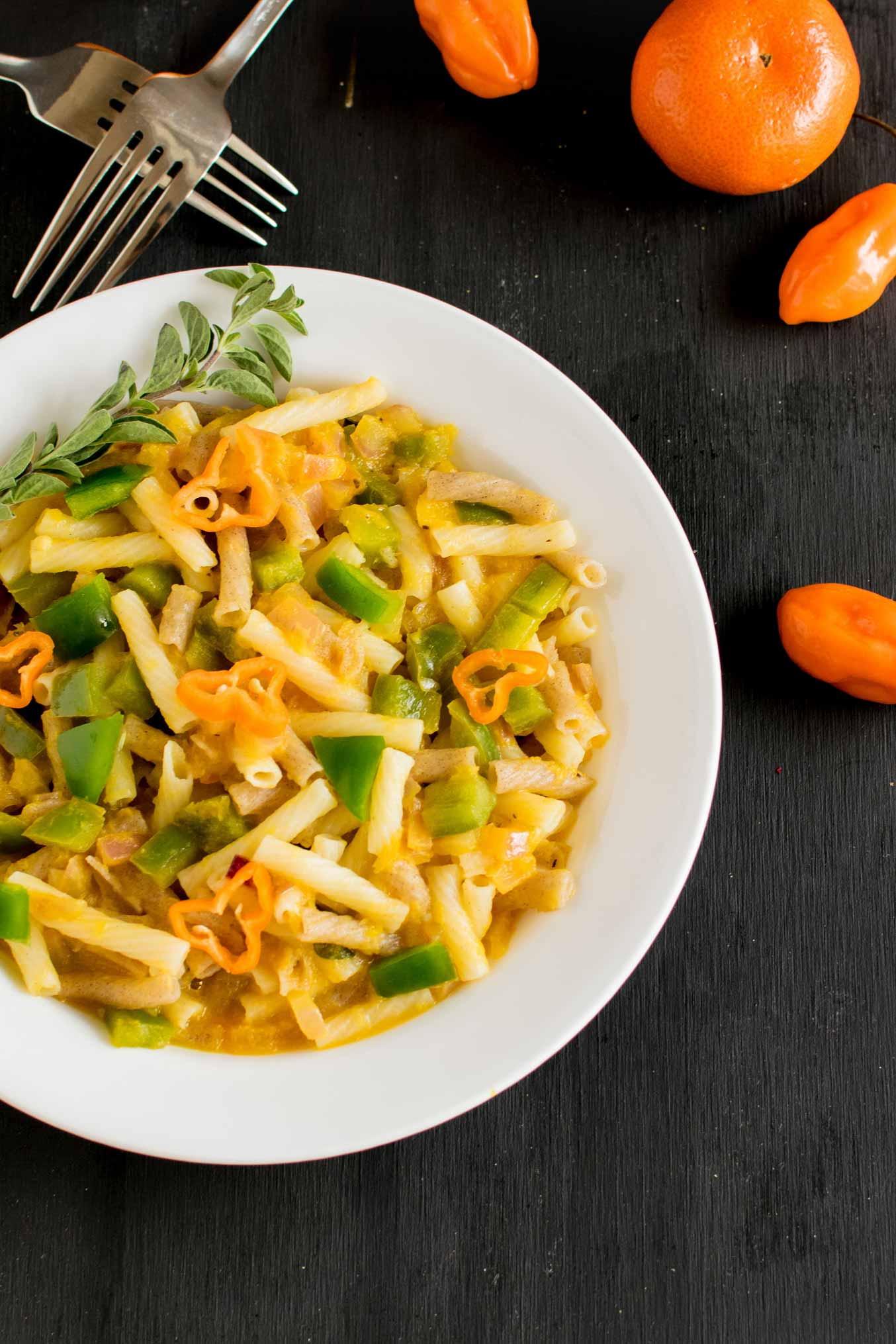 orange-habanero-pasta | kiipfit.com