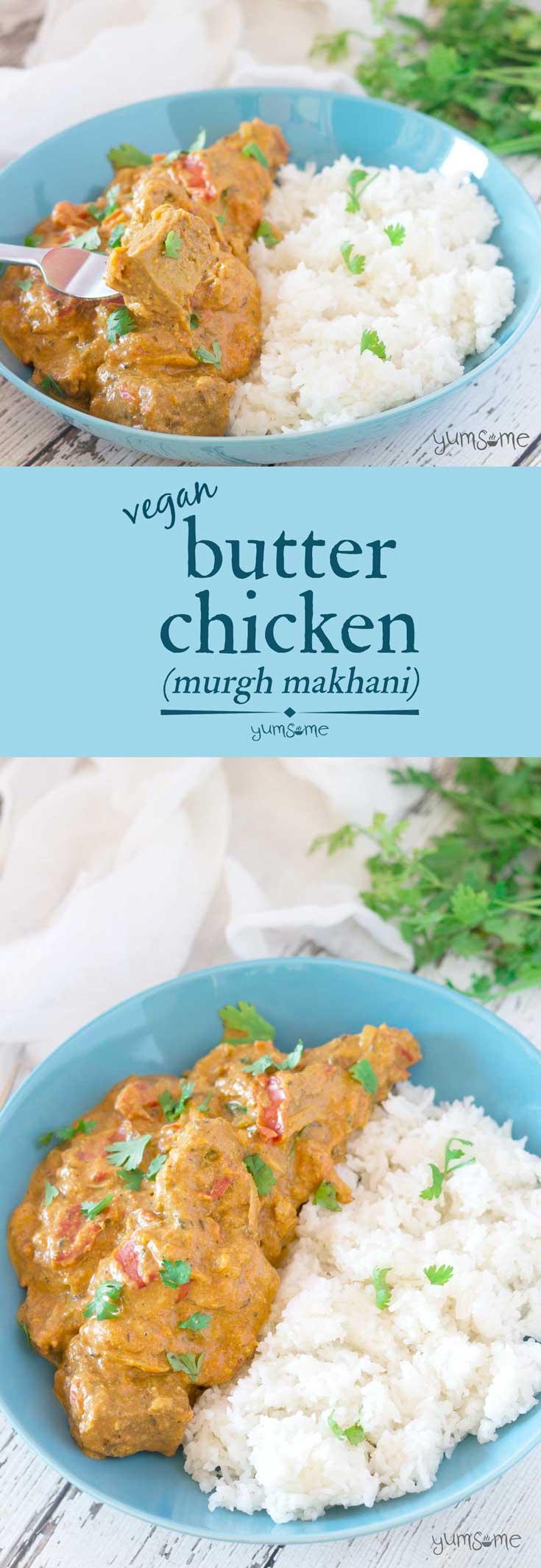 Vegan Butter Chicken (Murgh Makhani)