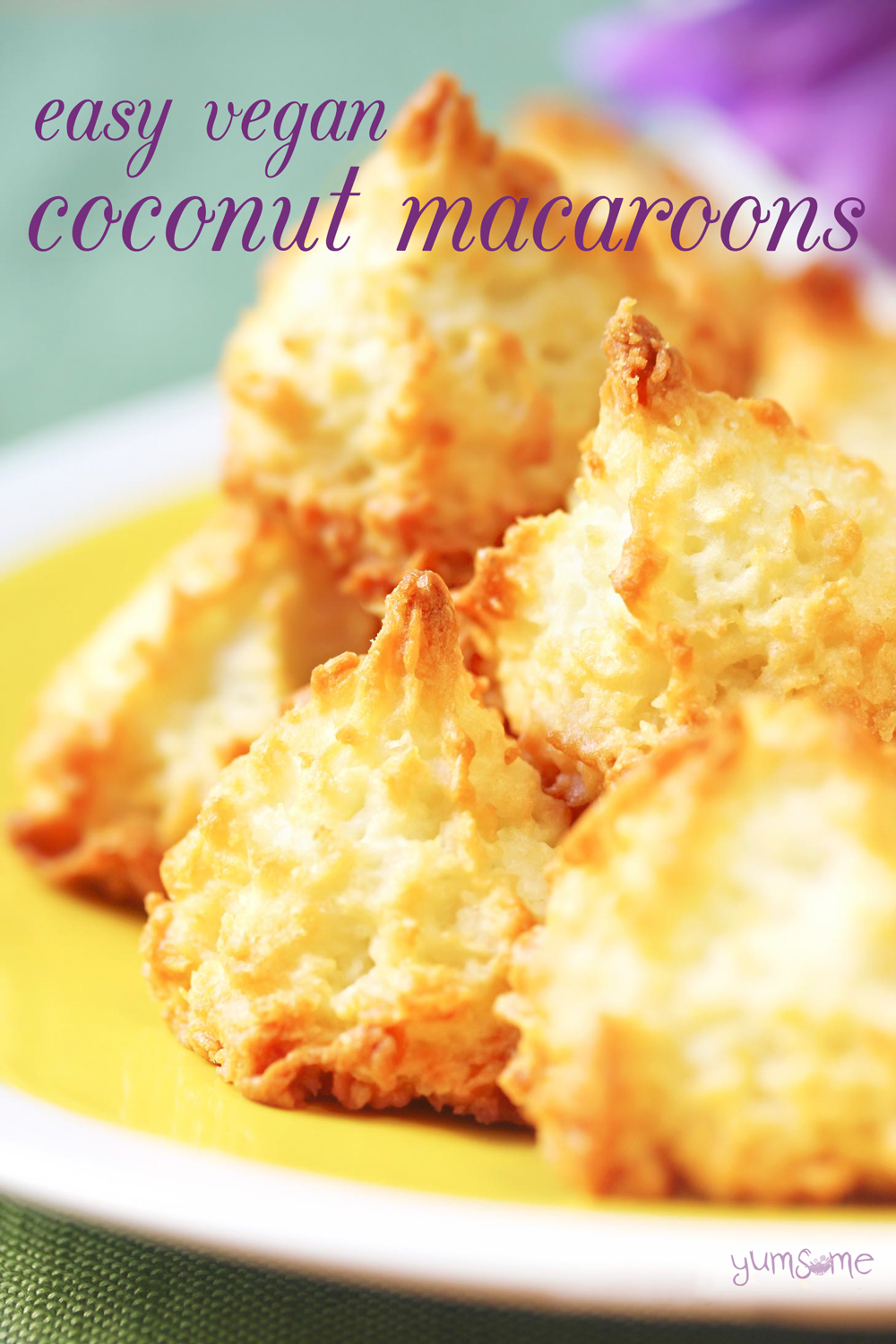 Easy Vegan Coconut Macaroons