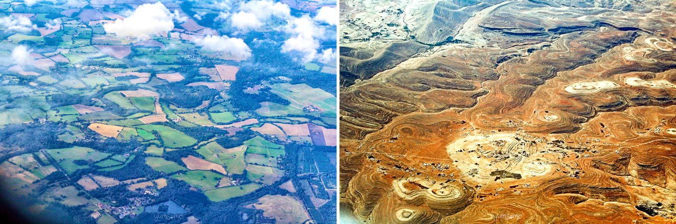 Britain and Morocco from the Air | yumsome.com