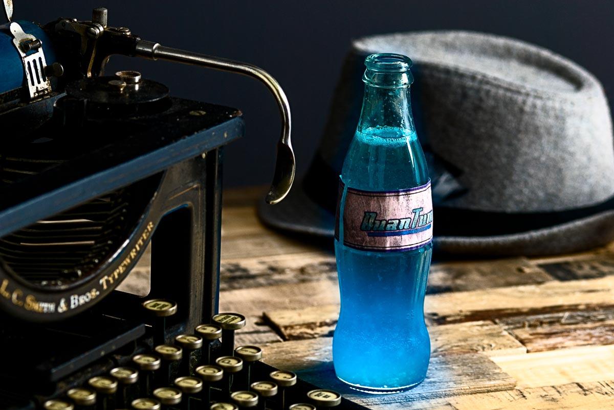 Nuka Cola Quantum cocktail | nomageddon.com