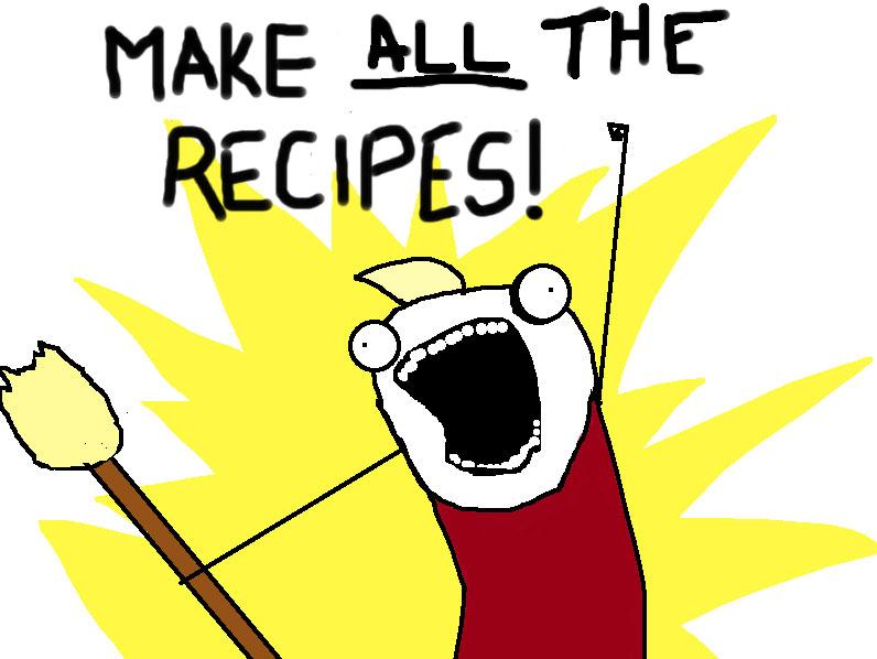 make all the recipes meme