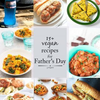15+ Manly Mouth-watering Vegan Recipes for Father's Day | yumsome.com