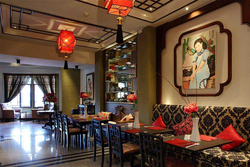 Breakfast restaurant at Shanghai Mansion