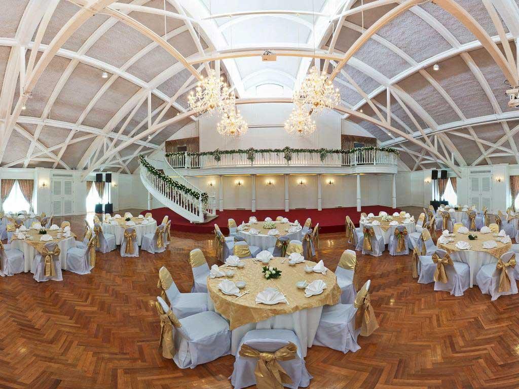 The ballroom and wedding hall at Shanghai Mansion