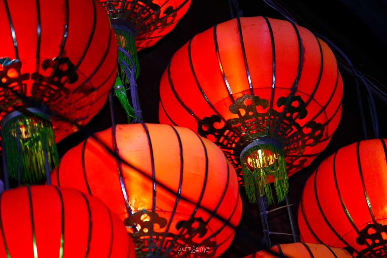 Chinese lanterns at Shanghai Mansion