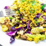 spicy tofu scramble | yumsome.com