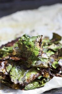 Easy Peasy Healthy Baked Kale Chips