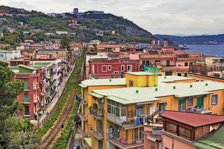 Cumana railway Pozzuoli | yumsome.com