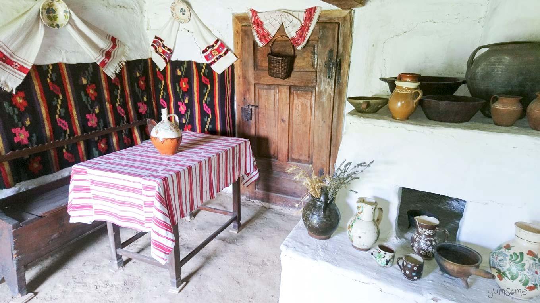 traditional Transylvanian Romania kitchen | yumsome.com