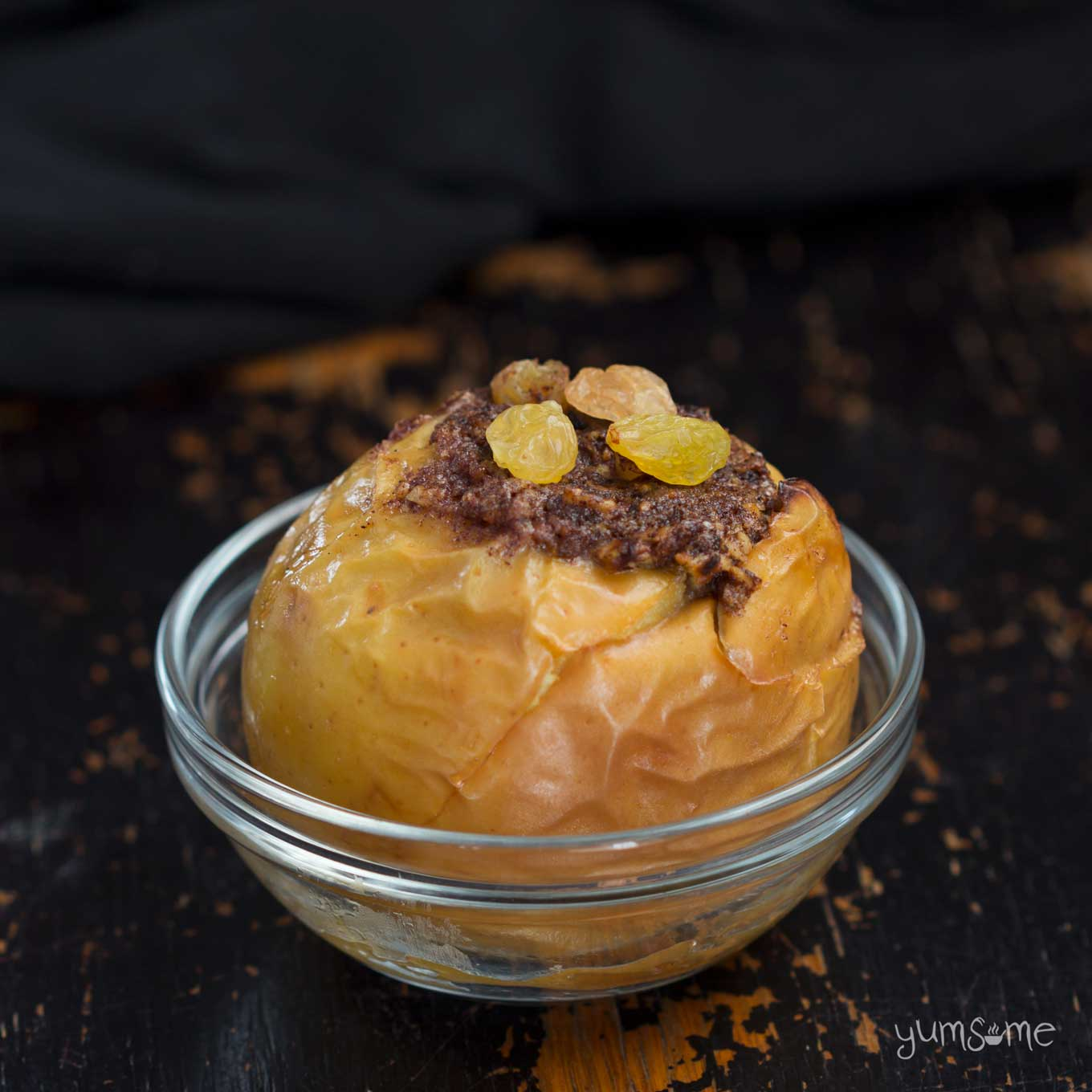 a baked apple | yumsome.com