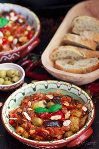 a bowl of sicilian caponata | yumsome.com
