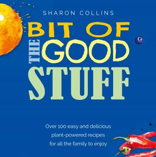 Bit of the good stuff book cover.