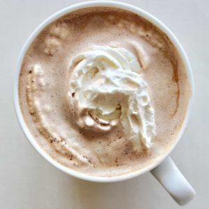 red wine hot chocolate
