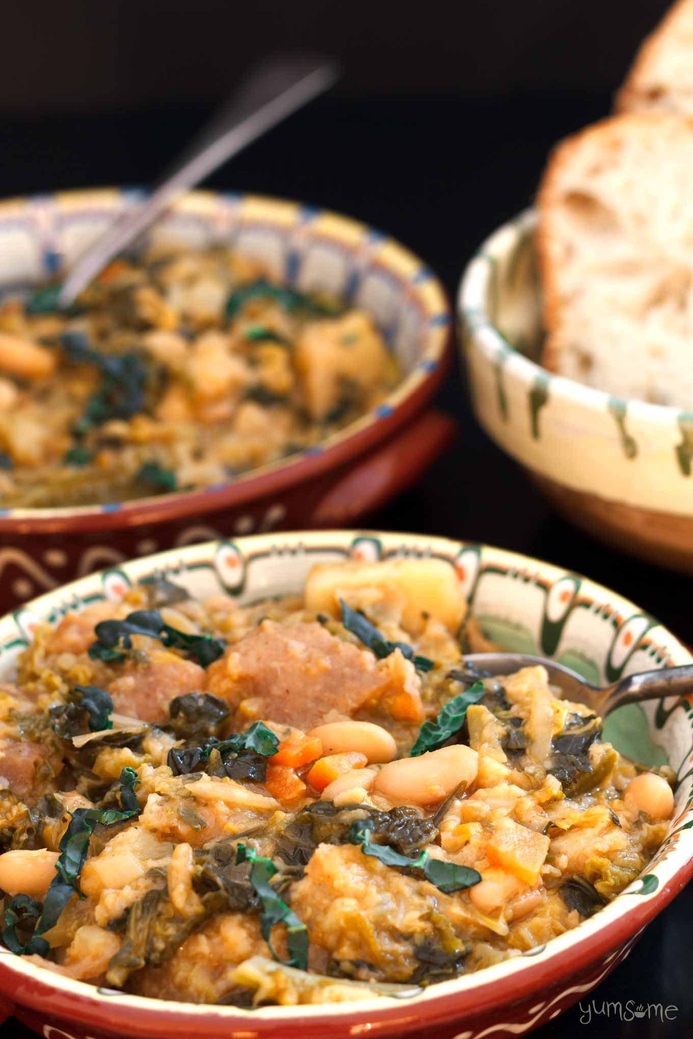 ribollita - Tuscan bread soup | yumsome.com