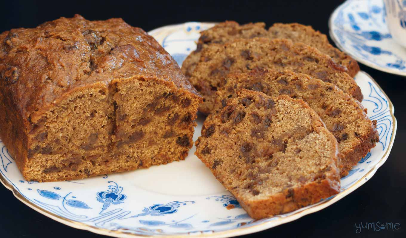 vegan english tea loaf | yumsome.com