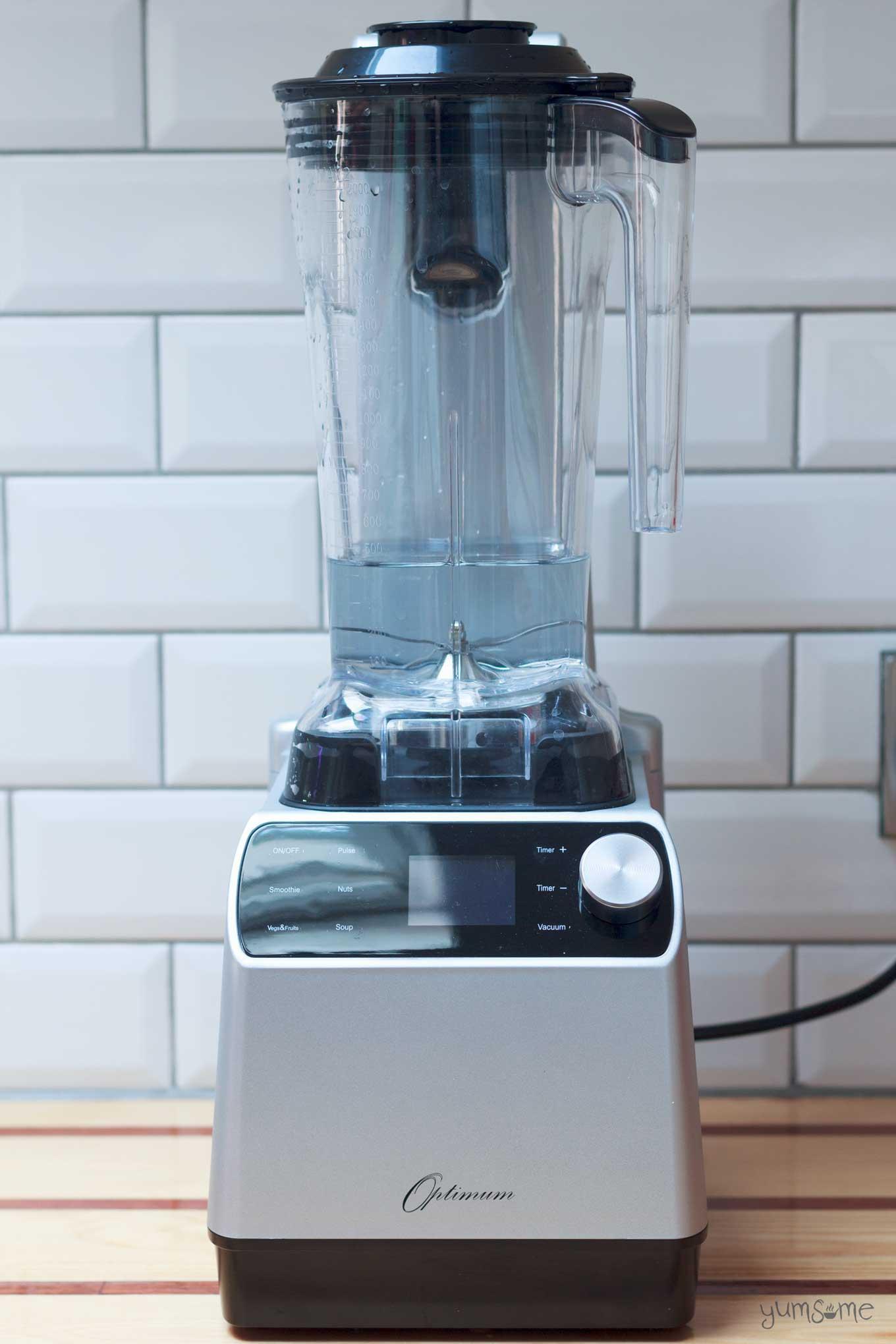 hero image: froothie optimum vac2 air vacuum blender | yumsome.com