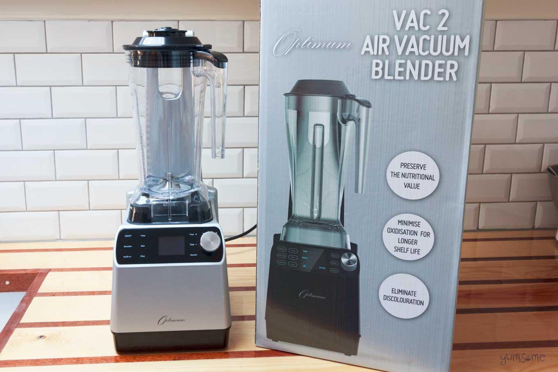 froothie optimum vac2 air vacuum blender with box | yumsome.com