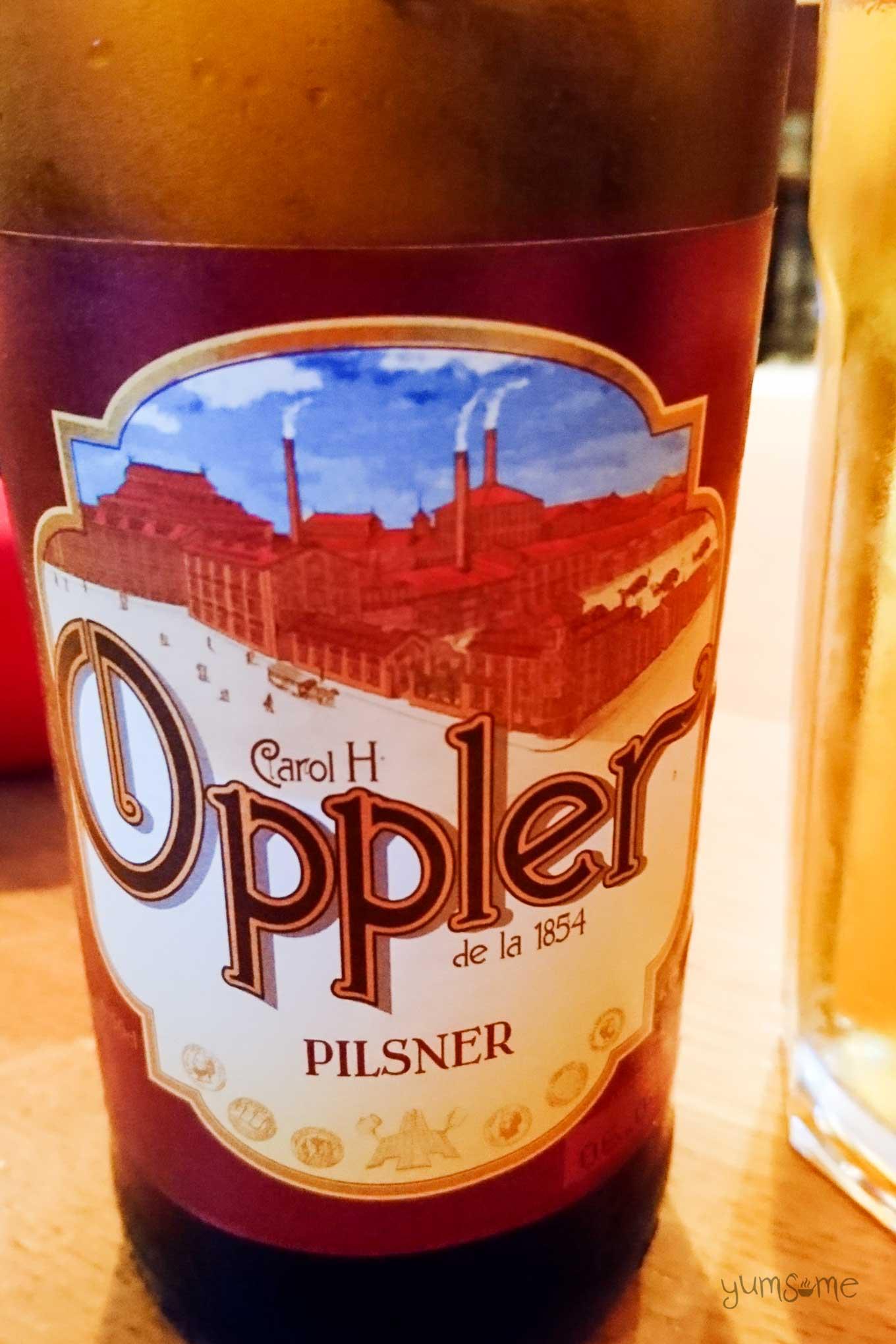 oppler pilsner | yumsome.com