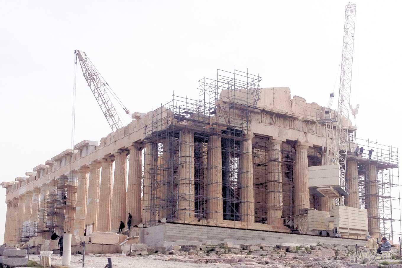 Parthenon restoration | yumsome.com