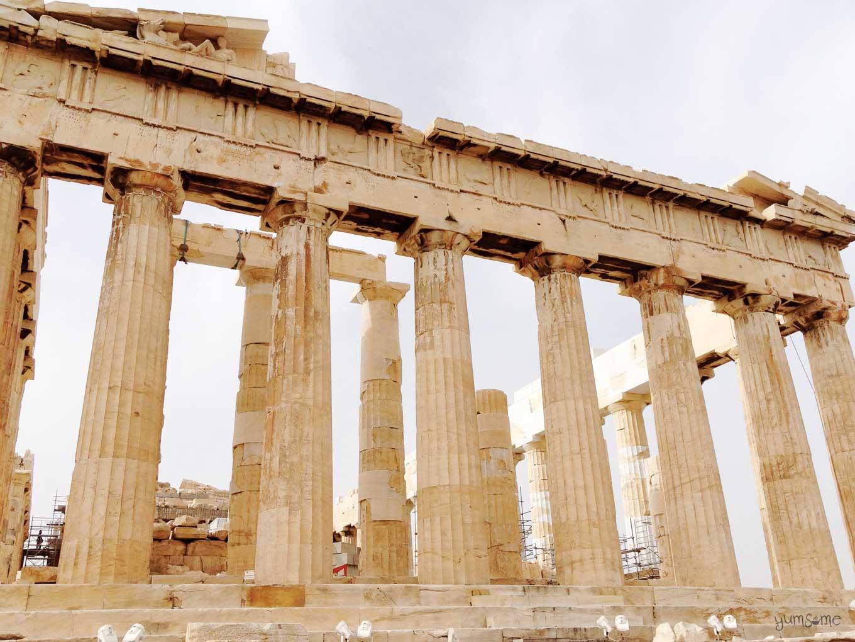 Parthenon detail | yumsome.com