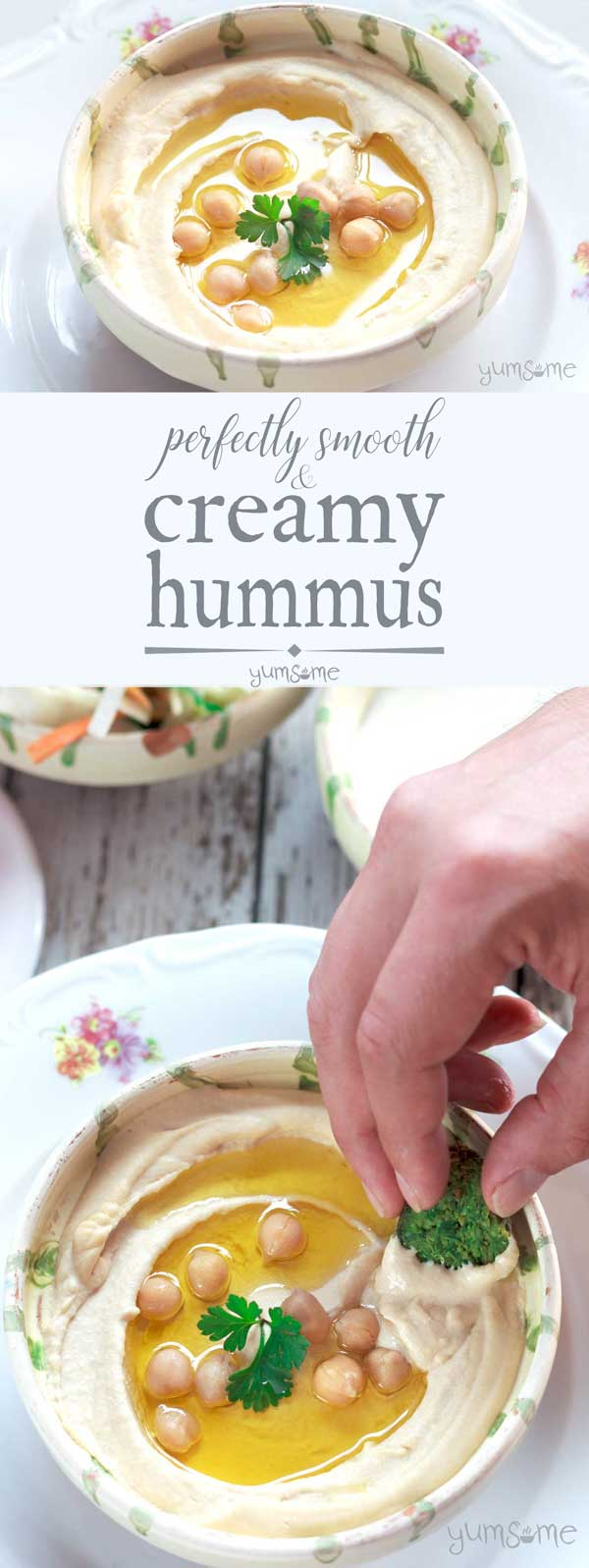 The Secret To Smooth and Creamy Hummus