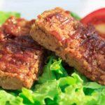 bbq glazed seitan ribs | yumsome.com