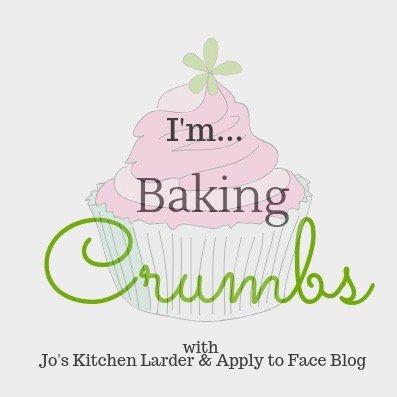 Baking Crumbs link party logo.
