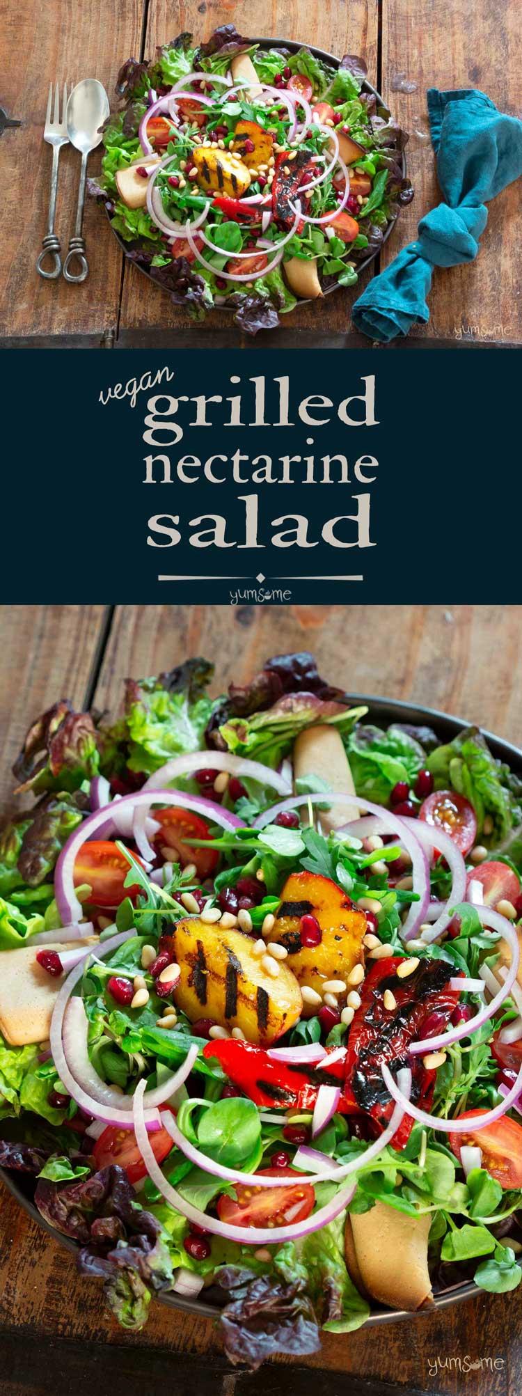 Super-Easy Grilled Nectarine Salad
