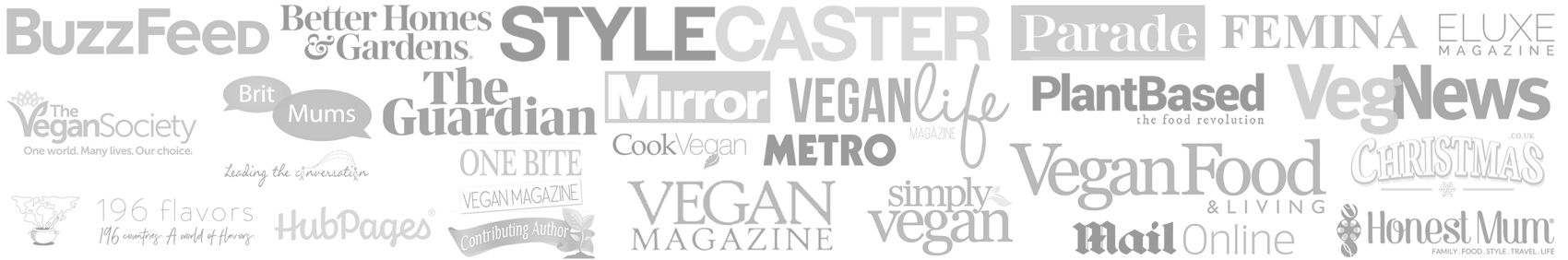 collage of media logos that show where else yumsome has been published